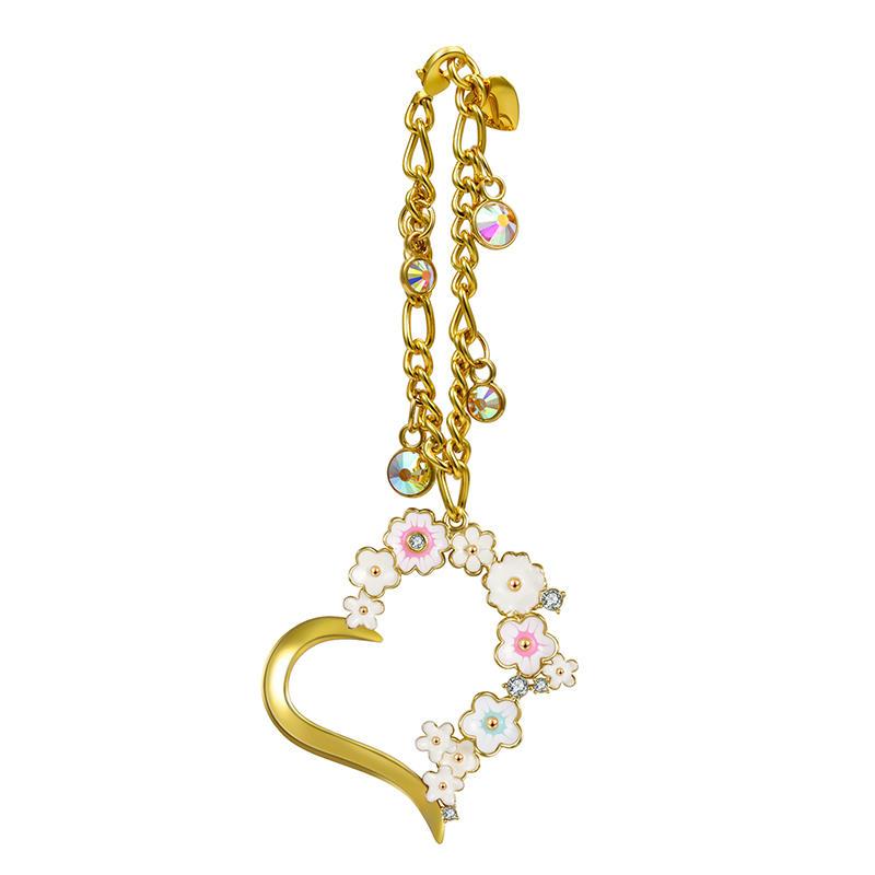 141mm*54mm Gold color modern decorativeaccessories for handbag