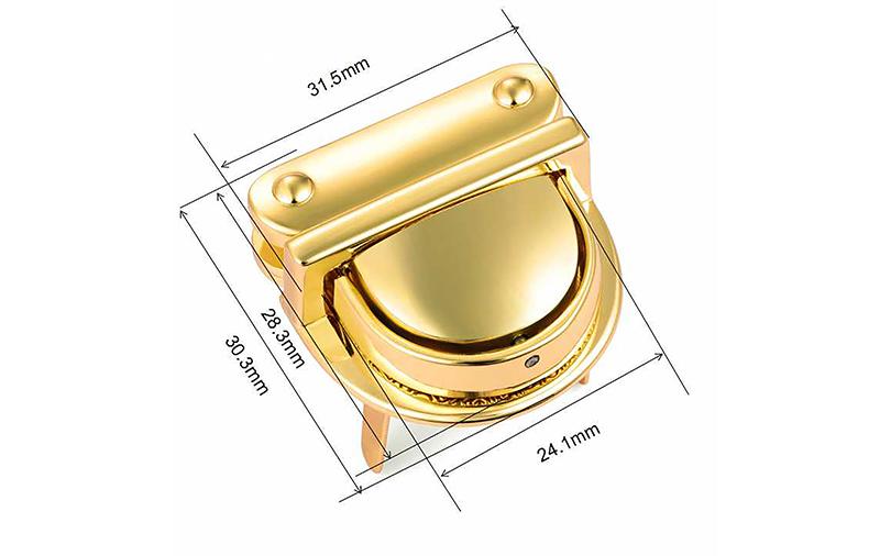 Wholesale twist turn lock locks for sale for bags-1