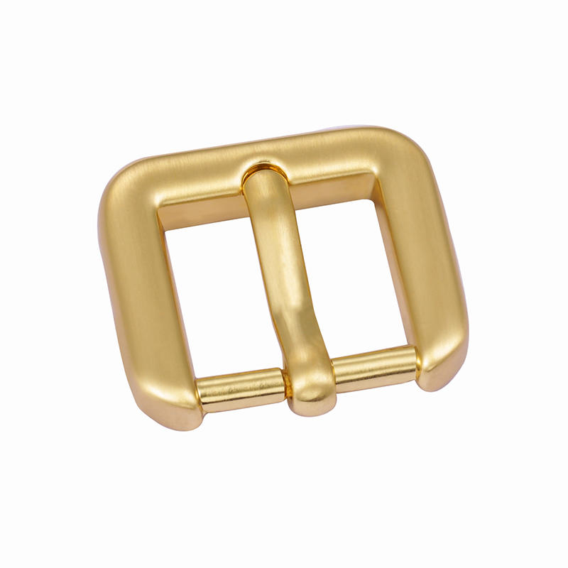 18.2mm*14mm Gold environmental Pink Buckle for high-end handbag