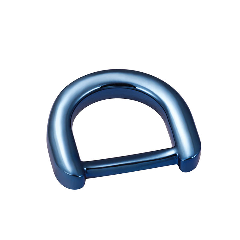 15mm*11.4mm blue  D ring for high-end handbag