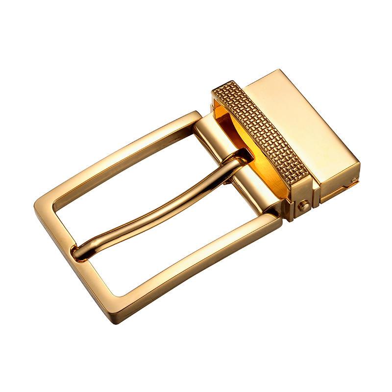 70.8mm*37MM Nickle or Gold Strap Buckle for men