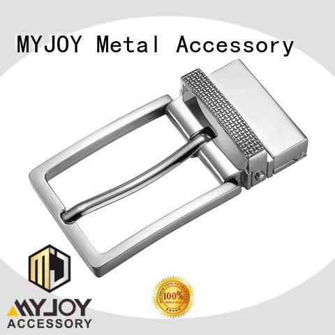 customized custom brass buckles leisure for belts MYJOY