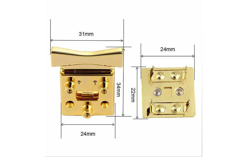 MYJOY Latest handbag turn lock supplier for purses-1