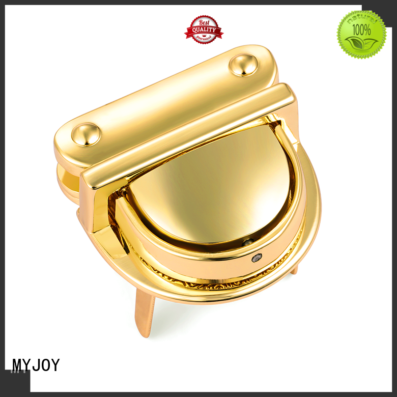MYJOY oval bag turn lock classic for briefcase