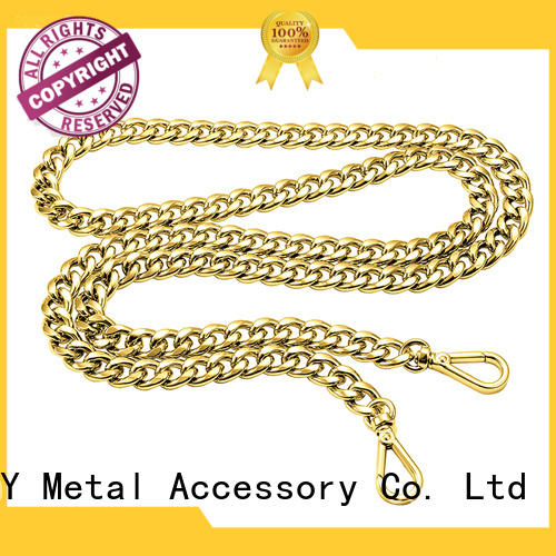 Latest purse chain zinc factory for handbag