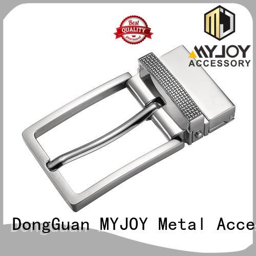 MYJOY logo strap belt buckle factory for wholesale