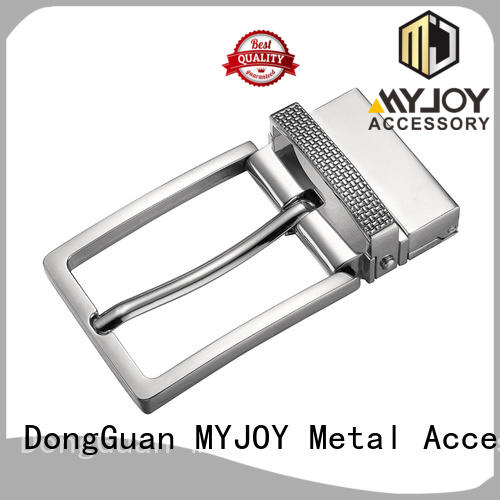 MYJOY logo strap belt buckle factory for wholesale