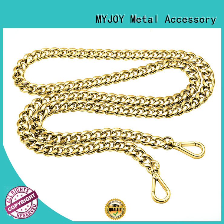 MYJOY fashion purse chain suppliers Zinc alloy for bags