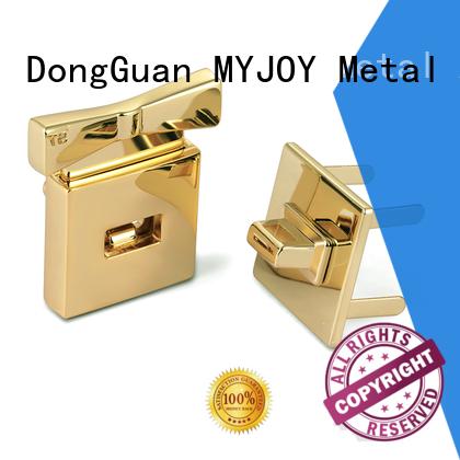 Custom handbag turn lock logo manufacturers for purses