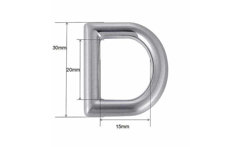 fashion ring buckle highend supply for bags-1