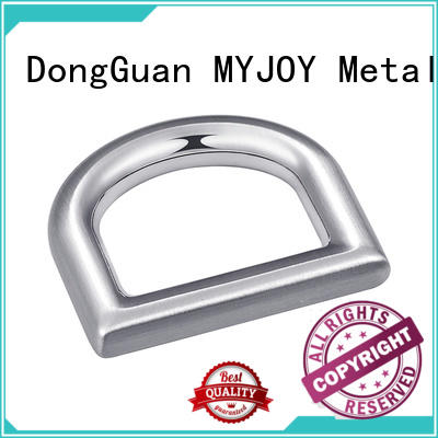 MYJOY metal d ring buckle for sale for bags