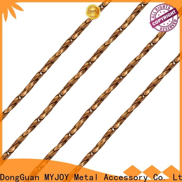 MYJOY alloy handbag chain strap company for purses