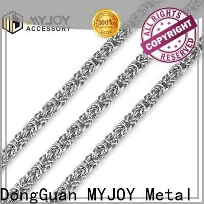 MYJOY zinc chain strap factory for purses