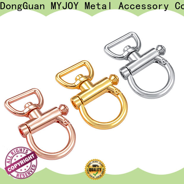 Top trigger snap hook accessory Supply for high-end bag