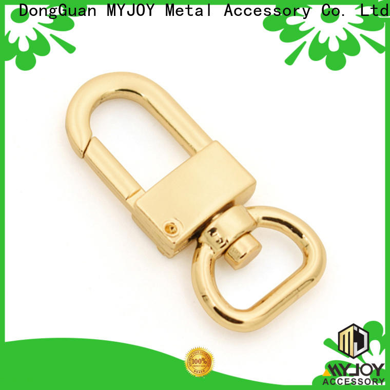 MYJOY metalright swivel clasps for bags Supply for high-end bag