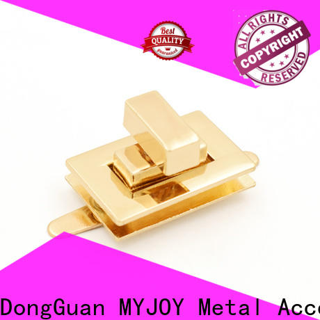 MYJOY High-quality bag turn lock manufacturers for purses