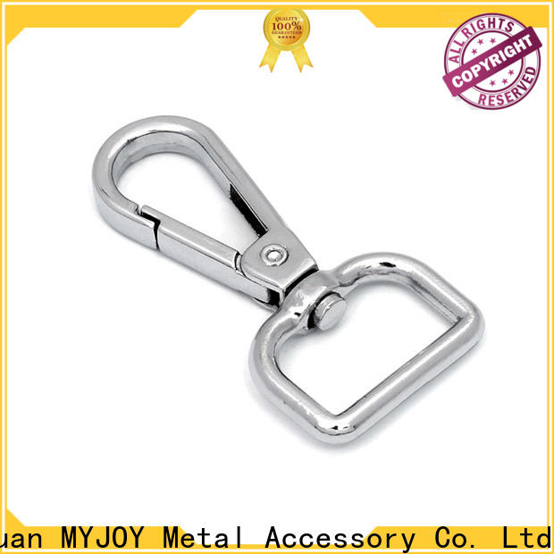 MYJOY double dog leash clasp factory for high-end bag