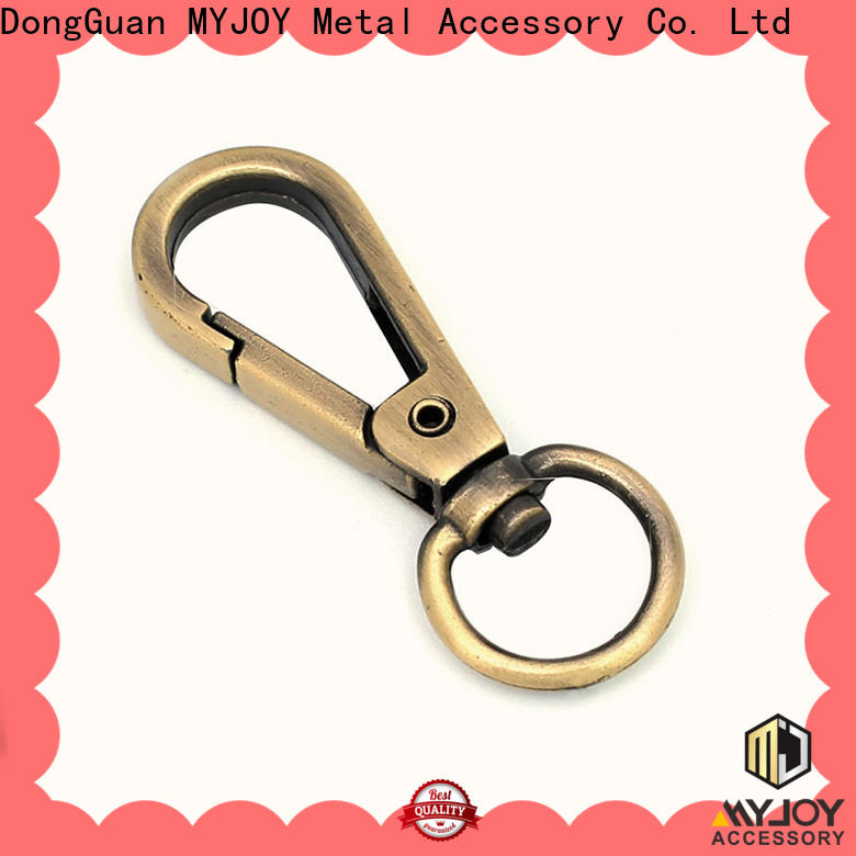 MYJOY metalright swivel hooks for handbags factory for high-end bag