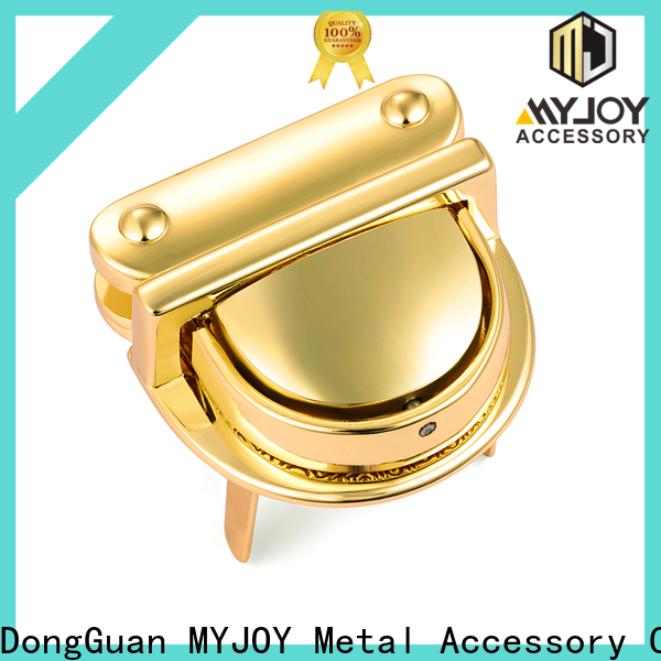 MYJOY personalized bag twist lock company for bags
