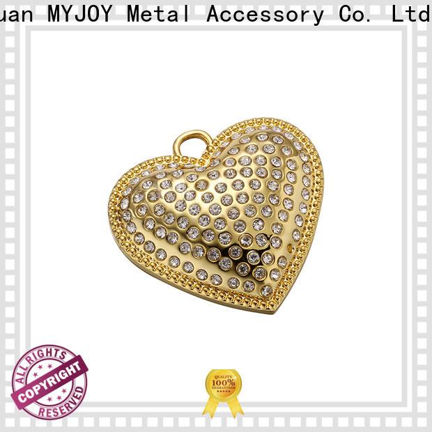 MYJOY nickle handbag logo metal plate for business for trader