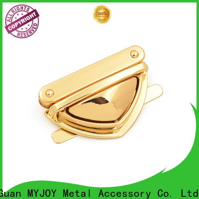 MYJOY escutcheon bag twist lock Suppliers for purses