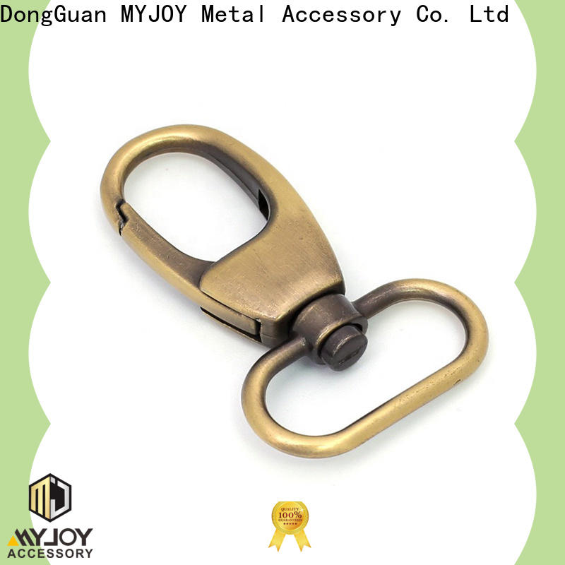 MYJOY High-quality swivel snap hooks manufacturers for high-end handbag