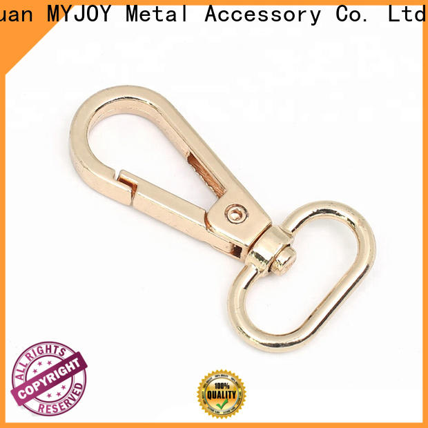 MYJOY High-quality swivel clasps for bags Suppliers for high-end handbag