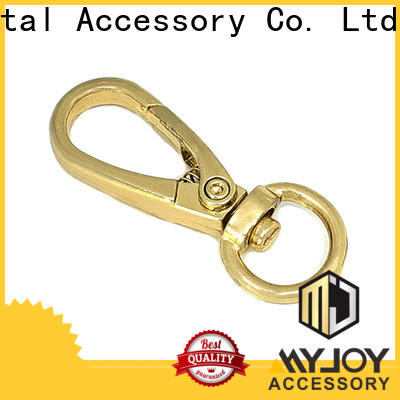 Custom trigger snap hook accessories Suppliers for high-end bag