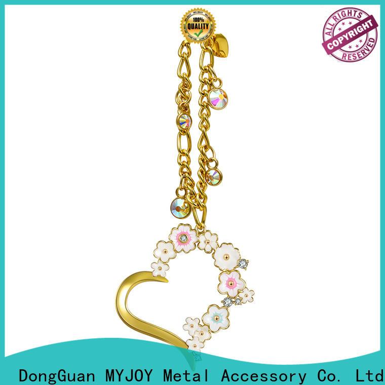 New handbag decorative accessories gold company for women's handbag