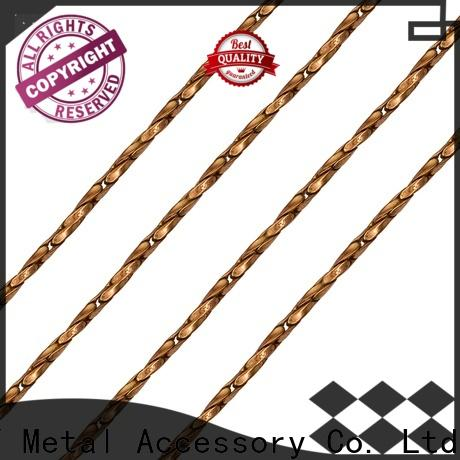 Custom strap chain zinc Supply for bags