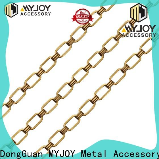 MYJOY color purse chain factory for bags