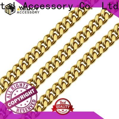 Latest handbag strap chain chains Supply for handbag