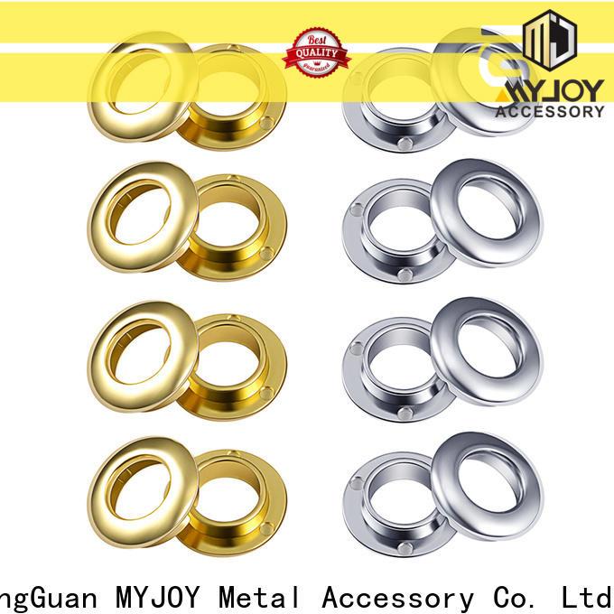 Custom brass eyelet handbag Supply wholesale