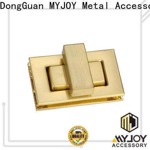 MYJOY Custom twist turn lock company for purses