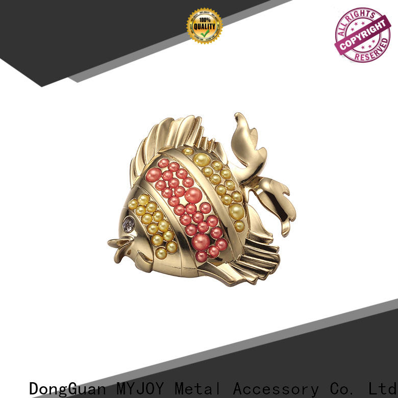 MYJOY Top handbag logo metal plate Suppliers for bags