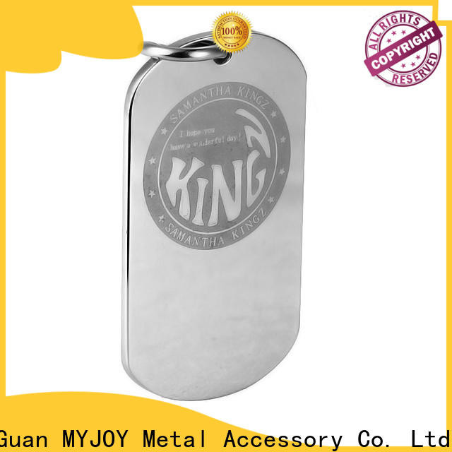 MYJOY High-quality metal logo plates for handbags Suppliers for trader