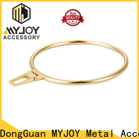 MYJOY beads metal logo plates for handbags Supply for bags
