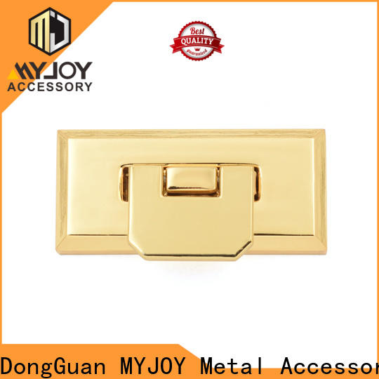 Custom handbag twist lock gold for business for briefcase