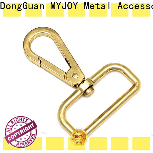 High-quality swivel hooks for bags turn Suppliers for high-end handbag