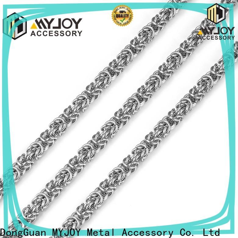 MYJOY zinc handbag chain Suppliers for purses