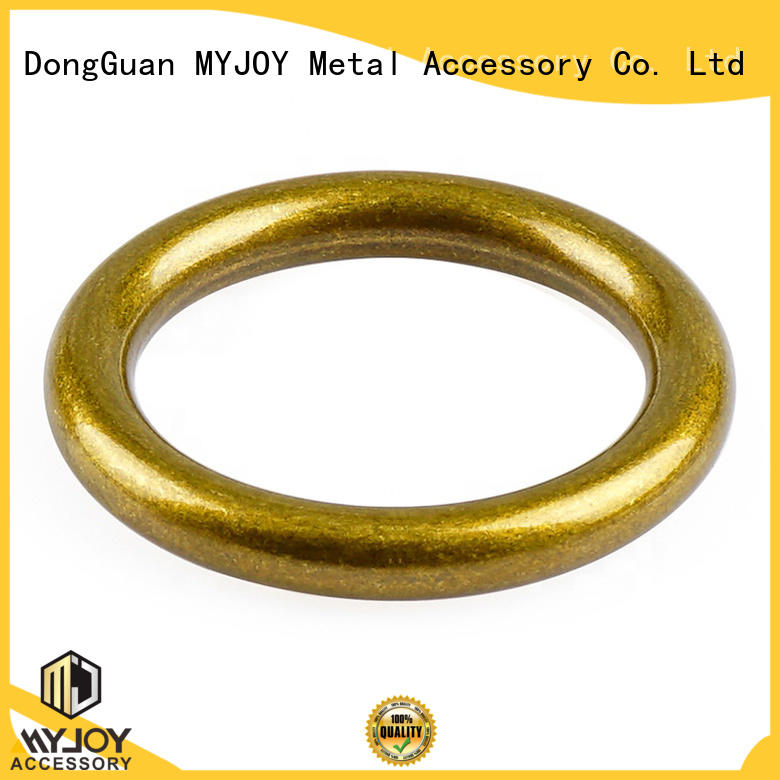 MYJOY customized rings for bags supply for bags