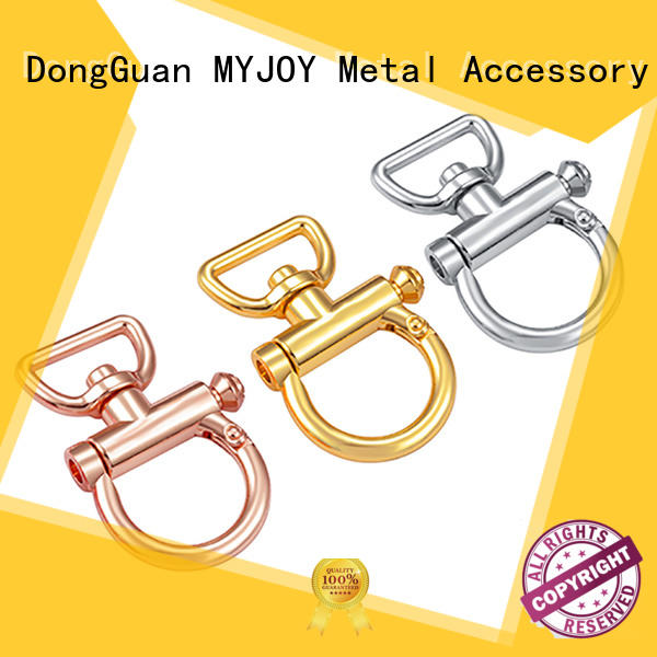 locks brass swivel snap hook supplier for high-end bag MYJOY