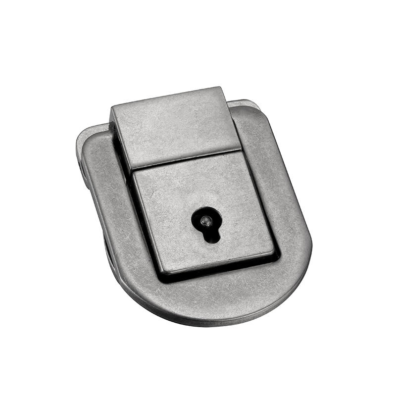 Nickle key lock for handbag