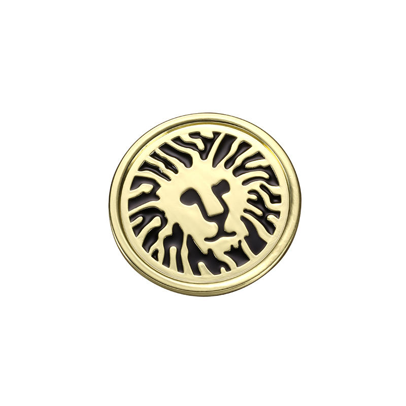 Gold Diameter of 35 mm circular label