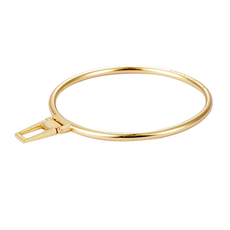 55.1 mm Gold Round and Full Circular Label could be customized Logo
