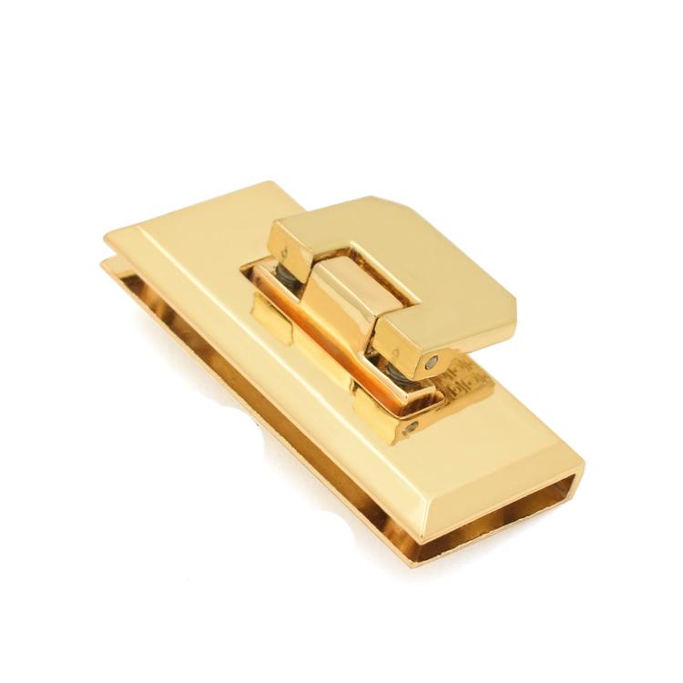 Custom handbag twist lock gold for business for briefcase-1