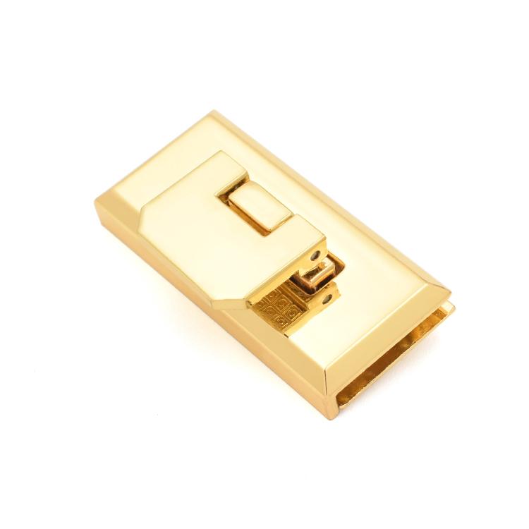 Custom handbag twist lock gold for business for briefcase-2