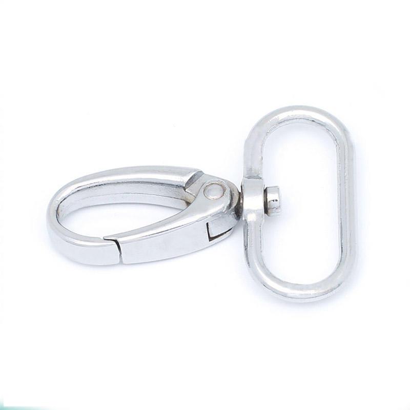 Custom bag accessories metal bag hook swivel  snap hook