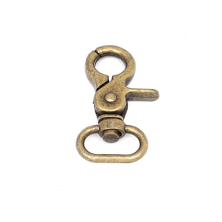 Custom swivel hooks for handbags hardware company for high-end handbag-1
