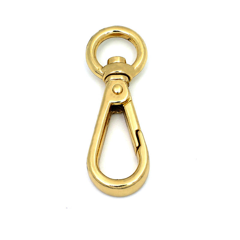 small stainless swivel snap hook for handbag metal accessories